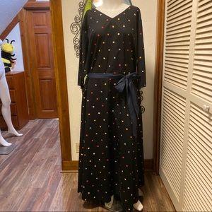 New eShatki Polk-a-dot Dress 36W (6X)